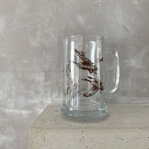 🌵3/$30 - Vintage Canada Goose Beer Glass